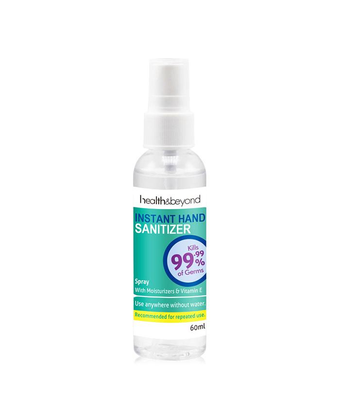 60mL Instant Hand Sanitizer Spray