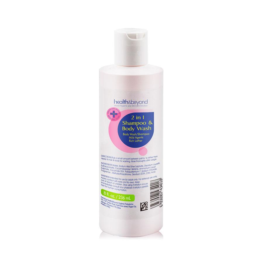 236mL 2 in 1 Shampoo and Body Wash