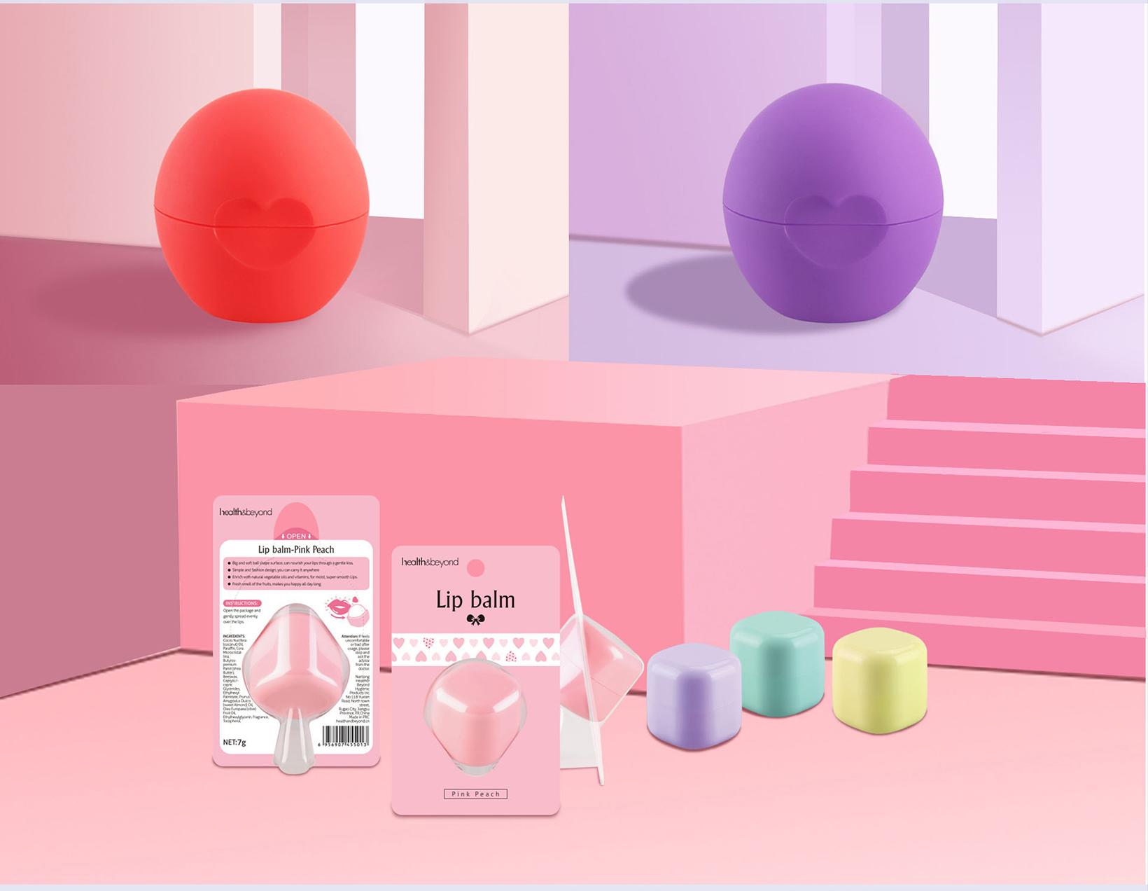 Maximize the use of endless lip balm