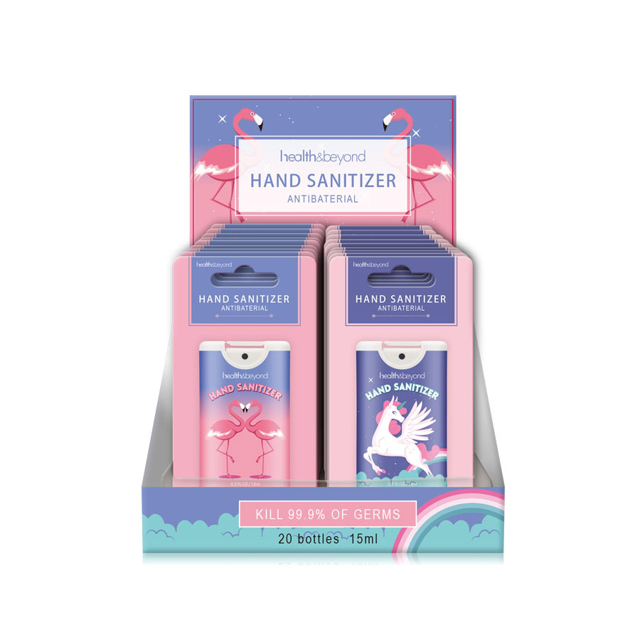 15m Card hand sanitizer